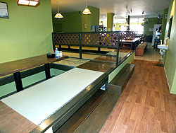 counter seating